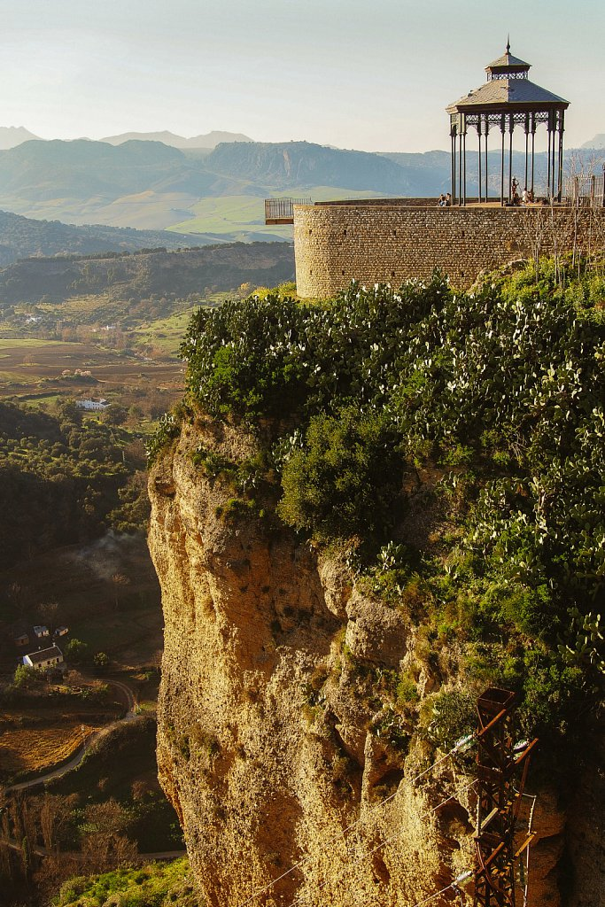 Viewpoint in Ronda, Spain